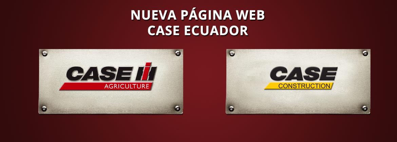 Página Web Case Ecuador